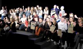 Uczestnicy i organizatorzy Festiwalu. Fot.P.Reising