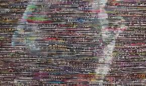 """Małgorzata Kosiec """"Nude II"""" 2020, 120x100 cm, olej na płótnie"""