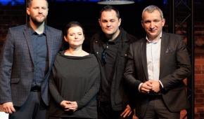 Kamil Maćkowiak, Jowita Budnik, Mariusz Słupiński, Krzysztof Witkowski. Foto: Joanna Jaros.