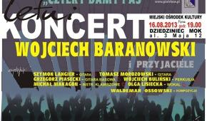 Plakat z pierwszego koncertu. fot. z archiwum W.Ossowskiego