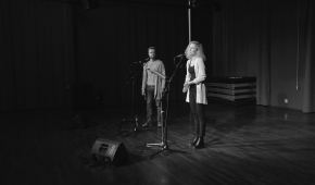 Zdjęcie z castingu do musicalu: Jakub Wocial i Agnieszka Przekupień