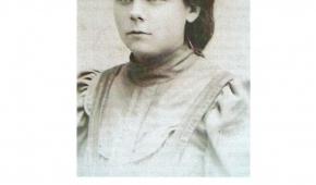 Janina Świderska w 1906 roku.