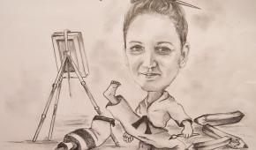 Autoportret Izabeli Czołnowskiej-Górskiej