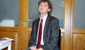 Poeta Piotr Grobliński.   fot.P.Reising
