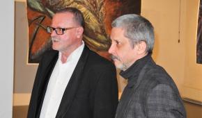 Stanisław Piotr Gajda i Wiesław Haładaj. fot.P.Reising