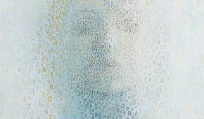 """Małgorzata Kosiec """"Exhalle"""" 2020, 92x63 cm, olej na płótnie"""