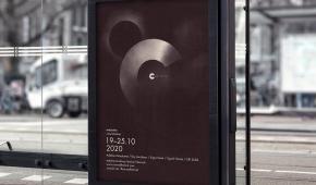 Plakat Fajnych Chłopaków dla Conrad Festival w Krakowie
