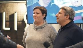 Monika i Francesco Maneli. Fot. Jacek Łukasiewicz / mat. prasowe