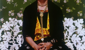 Foto: Nickolas Muray, Frida Kahlo on Bench