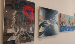 Pierwszy z lewej - kolaż Piotra Romanowskiego
