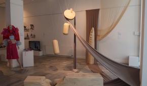 Instalacja rzeźbiarska Zuzanny Morawskiej, fot. ATN