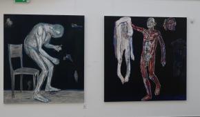 """Rafał Sobiczewski: """"Experience of Blue"""", 2019 i """"Skin"""", 2019"""