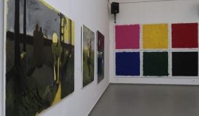 Obrazy Piotra Kotlickiego i Tomasza Musiała