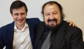 Radosław Blonka i Kaludi Kaludov. Fot. R.Blonka