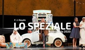 """Spektakl """"Lo speziale"""" Foto: Joanna Miklaszewska"""