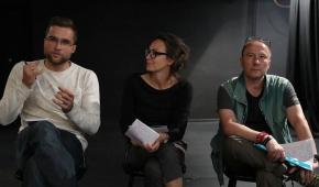 Jurorzy (od lewej): Tomasz Ciesielski, Ewelina Ciszewska i Przemysław Sowa