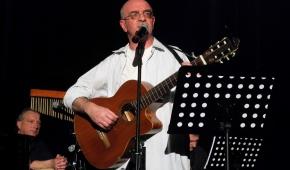 Paweł Małolepszy na tej samej scenie wystąpił w lutym 2019 roku. Fot.P.Reising