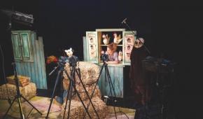 """Mały Small Talk"", Teatr Pinokio, Foto: Piotr Osak"