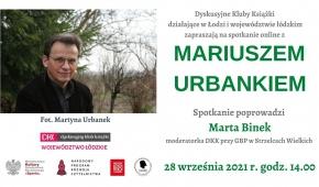 Spotkanie z Mariuszem Urbankiem