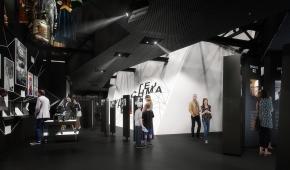 """Wizualizacja wystawy """"Kino Polonia"""", materiały prasowe"""