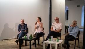 """Panel dyskusyjny """"Ciało/ Pamięć/ Historia""""  Foto: Polecam się -Piotr Wdówka"""