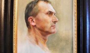Autoportret artysty. Fot.P.Reising