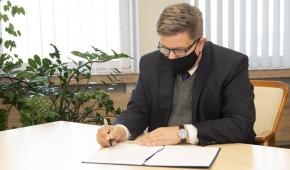 Grzegorz Schreiber, marszałek województwa. fot. Adam Staśkiewicz / mat. pras.