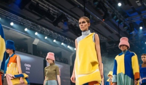 Zwycięska kolekcja Chen Zhi - International Contest - Łódź Young Fashion Award 2017